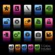 Stock Vector: Web 2.0 Icons // Colorbox Series