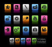 Web 2.0 Icons // Colorbox Series — Stockvektor