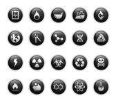 Science // Black Label Series — Stock Vector