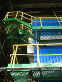 Platforms and stairs — Stockfoto
