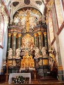 Altar in the Basilica of Jasna Gora — Stock Photo