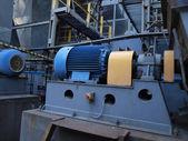 Large electric motor — Stock Photo