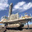 Heavy drilling machine - Stock Photo