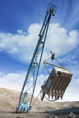 Mine excavator — Stock Photo