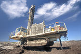 Heavy drilling machine — Stock Photo