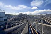 Coal sorting — Stock Photo