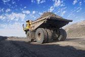 Big Yellow Mining Truck — Stock Photo