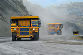 Big mining truck — Stock Photo