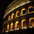 Colosseum at night — Stock Photo #4110282