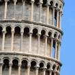 Section of the Leaning Tower — Stock Photo