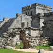 Royalty-Free Stock Photo: Mayan ruins of Tulum Mexico