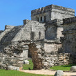 Mayan ruins of Tulum Mexico — Stock Photo #4169029