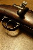 Antique rifle — Stock Photo