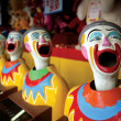 Stock Photo: Mouthy clowns