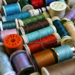 Royalty-Free Stock Photo: Thread and sewing background