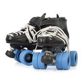 分離されたローラー ダービーのスケート — ストック写真