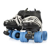 Roller derby skates isolated — Stock Photo