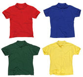 Blank polo shirts — Foto Stock