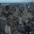 New York city at dusk — Stock Photo