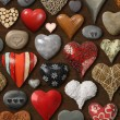Hearts galore — Stock Photo