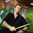 Drummer — Stock Photo #4605387