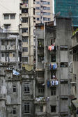 Hong Kong urban decay — Stock Photo