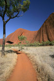 Path around Ayers Rock — Stock Photo