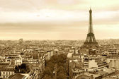 Cityscape of Paris France — Stock Photo