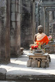 Buddha in Angkor — Stock Photo
