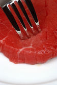 Meat eater — Stock Photo