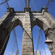 ponte de Brooklyn — Foto Stock