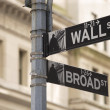 Wall street sign — Stock Photo #4965933
