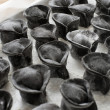 Black ink pasta - Stock Photo