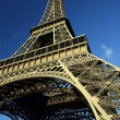 Looking up at the Eiffel Tower — Stock Photo #5204340