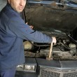 Confused mechanic — Stock Photo