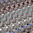 Soundboard knobs — Stock Photo
