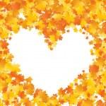 Maple heart — Stock Vector #4132910