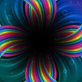 Abstract festive rainbow background — Stock Vector