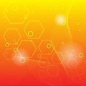 Abstract orange background — Cтоковый вектор
