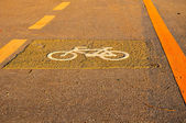 Bicycle Track — Stock Photo