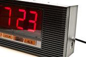 Clock isolated — Stock Photo