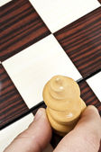 Chess table — Stock Photo