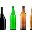 Color bottles — Stock Photo #4365150