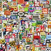 Digital collage — Stock Photo
