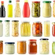 Pickled food — Stock Photo