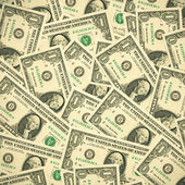 Dollars background — Stock Photo