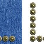 alfabeto de los pantalones vaqueros — Foto de Stock   #4670346