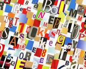 ABC collage — Stock Photo