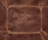 Brown leather — Stock Photo