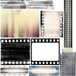 Film borders — Stock Photo